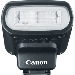 Canon EOS M review -- Speedlite 90EX flash strobe