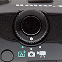 Canon EOS M review -- Mode dial