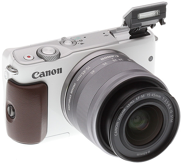 Canon M10 Review: Field Test -- Product Image Back