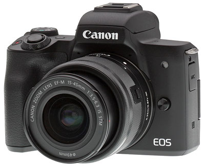 canon eos m50 camera mirrorless lens 4k ef saudi m15 45mm kit posted conclusion
