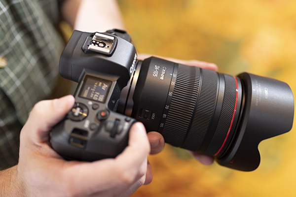 Canon EOS R Review -- Product Image