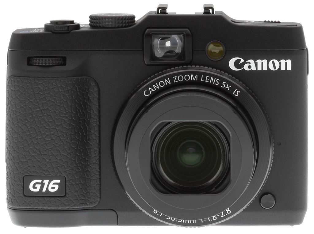 Canon g16 review front view