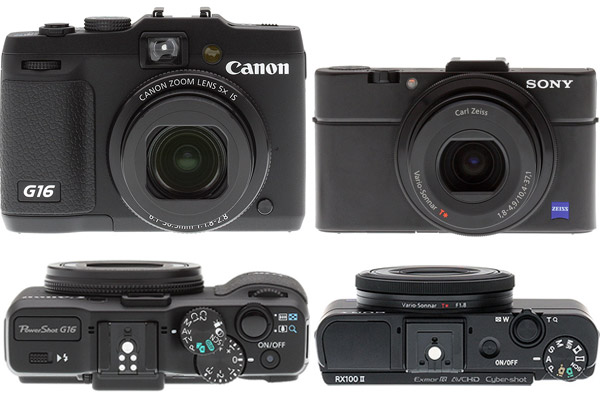 Canon G16 Review - Sony RX100 II Comparison