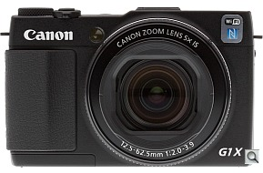 image of the Canon PowerShot G1 X Mark II digital camera
