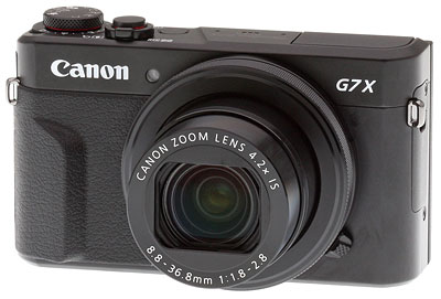 Canon G7X II Review -- Product Image
