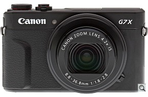 image of the Canon PowerShot G7 X Mark II digital camera
