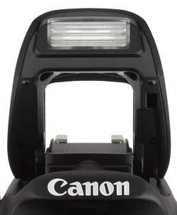 Canon SL1 review -- flash