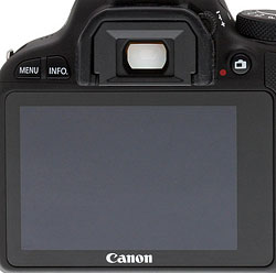 Canon SL1 review -- LCD monitor
