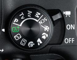 Canon SL1 review -- Autofocus area