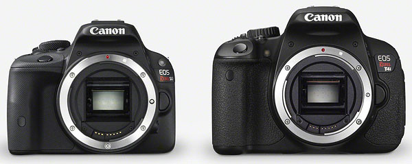 Canon SL1 review -- Comparison with Canon T4i