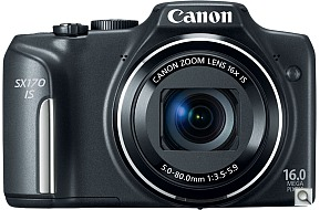 image of Canon PowerShot SX170 IS