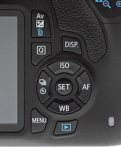 how to turn af lock on canon dslr