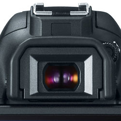 Canon T5i review -- Viewfinder