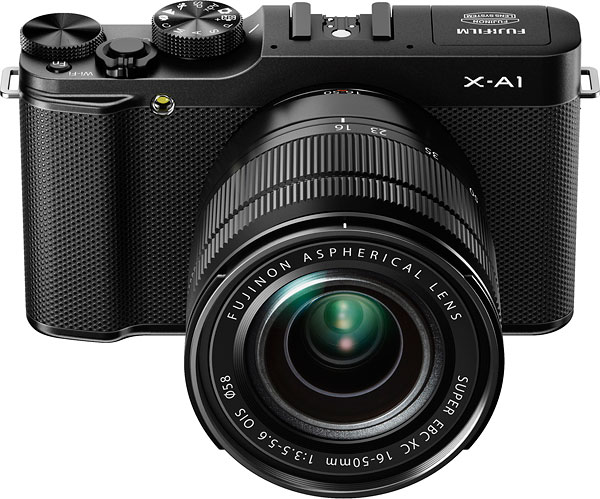 Fuji X-A1 review -- Front view