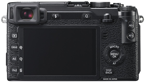 Fuji X-E2 Review --  Back