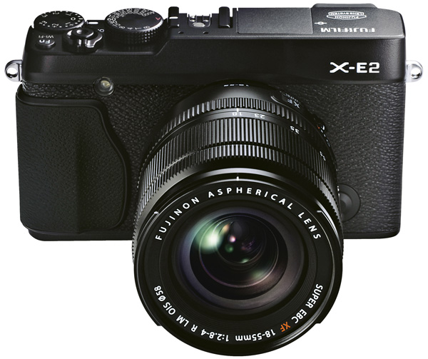Fuji X-E2 Review --  Front Black