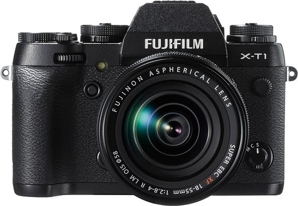 Fuji X-T1 Review -- Front view