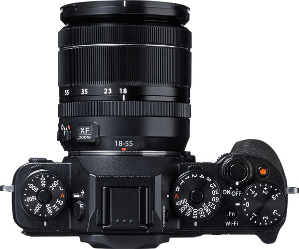 Fuji X-T1 Review -- Top view
