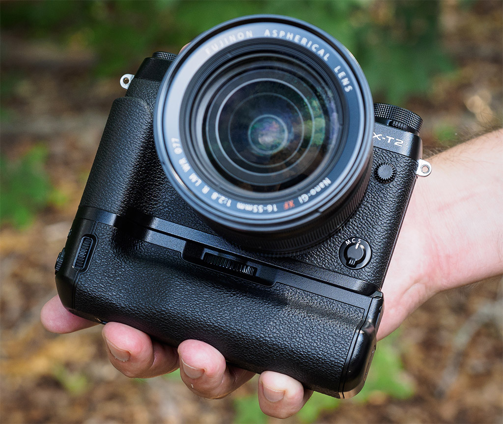 Fujifilm X T2 Review Hands On Preview Body Black With The Bigger Better Fuji