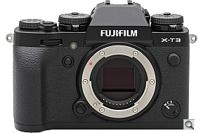 image of the Fujifilm X-T3 digital camera