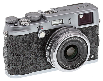 Fuji X100S Review - angle view