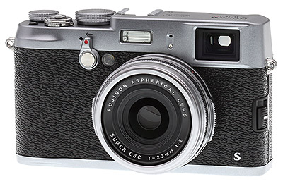 Fuji X100S Review - front quarter view
