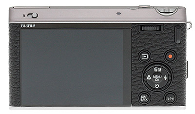 Fuji XF1 - rear view