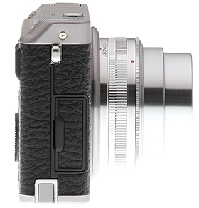 Fuji XF1 - right side view