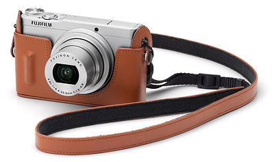 Fuji XQ1 review -- BLC-XQ1 bottom leather case