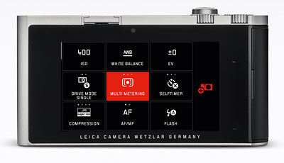 Leica T Review -- Solid block of aluminum body