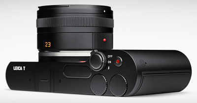 Leica T Review -- Top right, black
