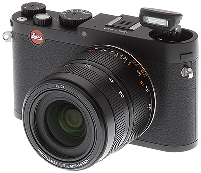 Leica X Vario Review -- Front quarter view