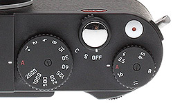 Leica X Vario Review - Top buttons