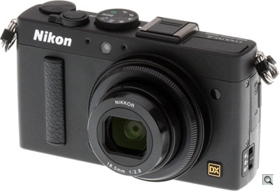 Nikon Coolpix A review -- Three quarter view