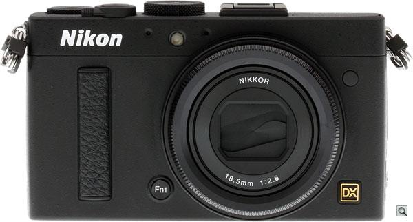Nikon Coolpix A -- Front view
