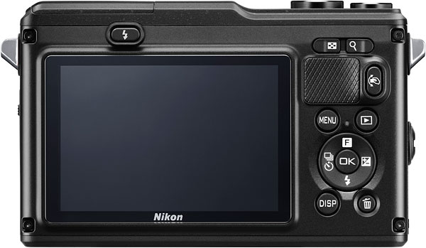 Nikon AW1 Review -- Rear view