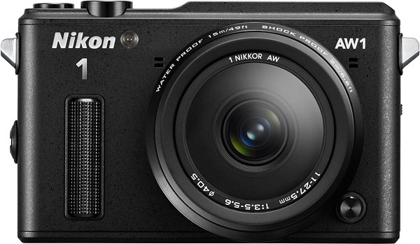 Nikon AW1 Review -- Front view