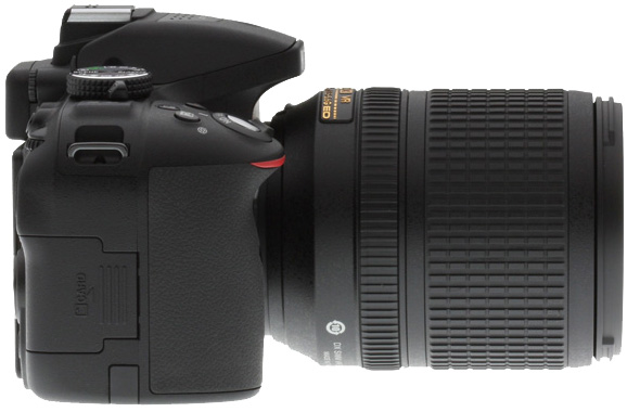 Nikon D5300 Review -- right side view