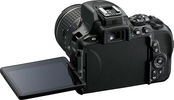 Nikon D5600 Review -- Product Image