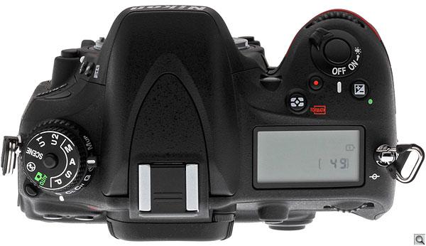 Nikon D600 top