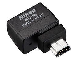 Nikon D610 Review -- WU-1b Wireless Mobile Adapter