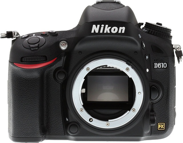 Nikon D610 Review -- front view