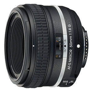 Nikon DF review -- AF-S NIKKOR 50mm f/1.8G Special Edition lens.