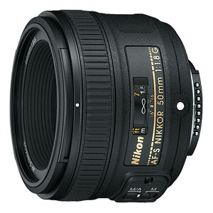Nikon DF review -- AF-S NIKKOR 50mm f/1.8G lens.