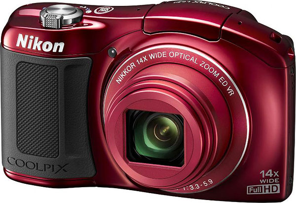 Nikon L620 Preview -- Red-bodied variant
