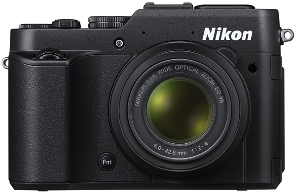 Nikon P7800 review -- Front view