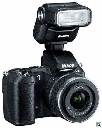 Nikon V1 and SB-N7 flash