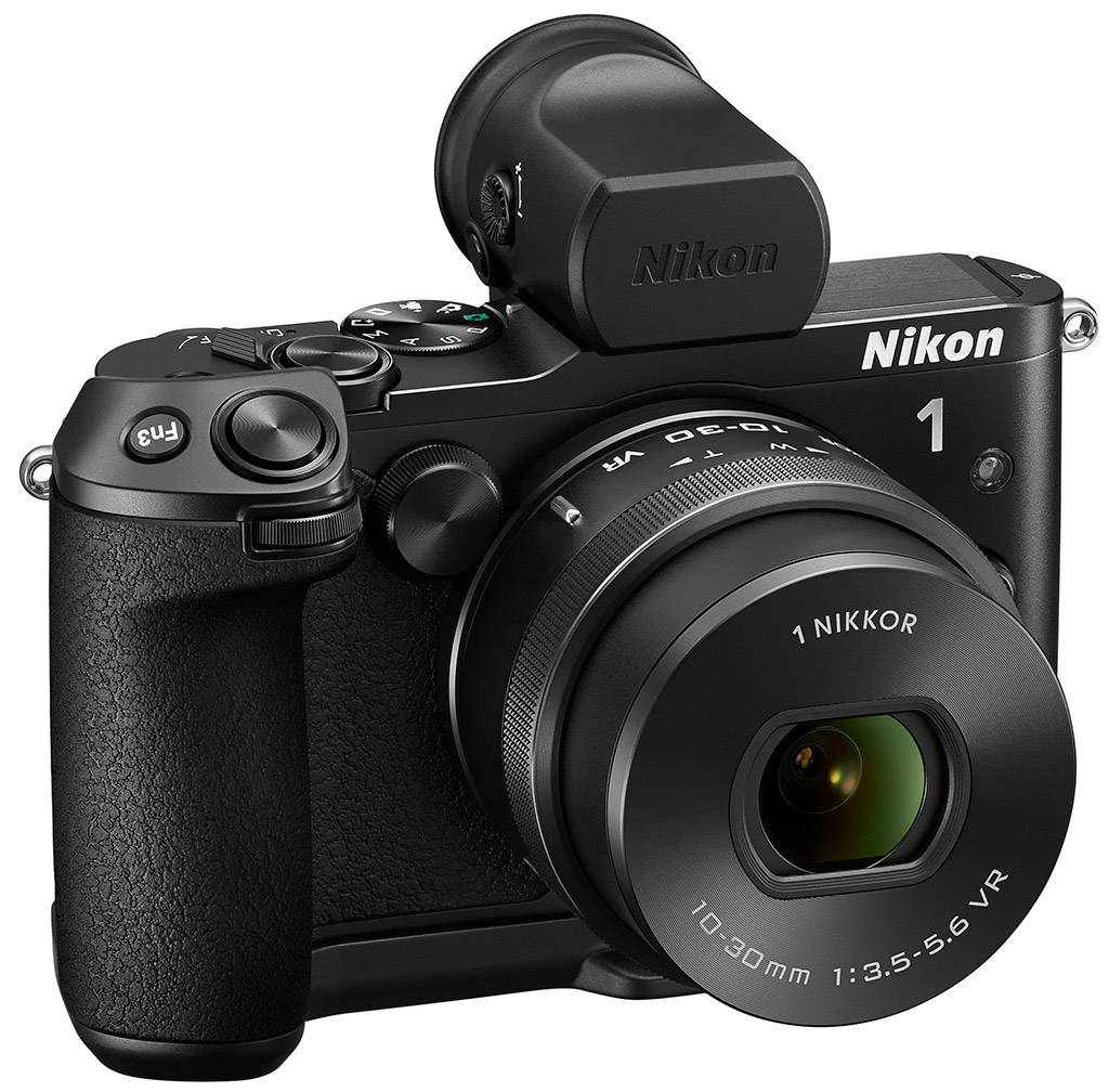Nikon V3 Review 1 J5 Kit 10 30mm Kamera Mirrorless The Evf Features A Similar Rounded Eyecup Design Like Those Of Nikons D800 And D4 Dslrs Houses High Resolution 2359k Dot Lcd Screen