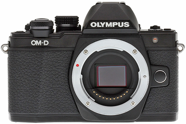 Olympus E-M10 II Review -- Front View