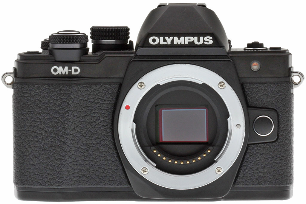 olympus e m10 ii review front view